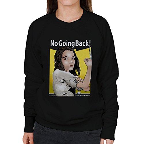 Mutie Riveter Laura Logan X Men No Going Back Women's Sweatshirt Black