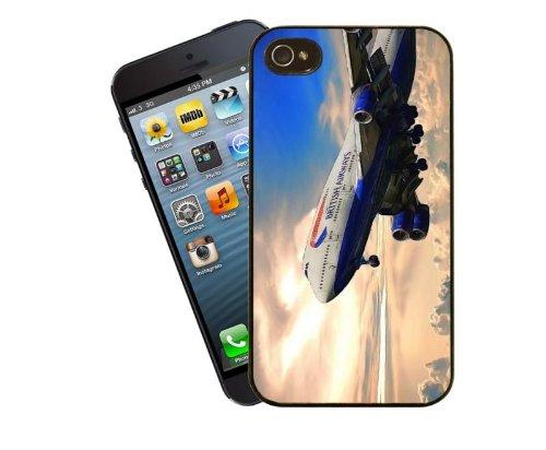Luftfahrt Boeing 747British Airways Jumbo-Jet–Iphone 5/5S–von Eclipse Geschenk Ideen