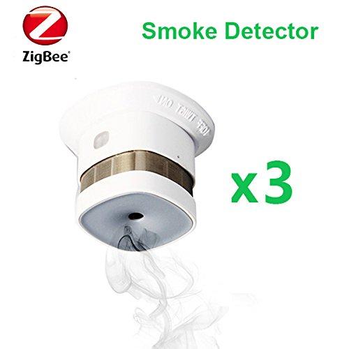 HEIMAN Reddot Preis Wireless Zigbee Rauchmelder Feueralarm EN14604 CE genehmigt 3 Teile/Satz