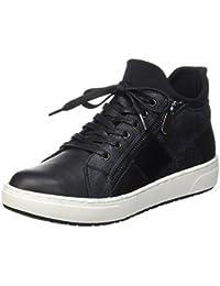 Marco Tozzi 25220, Zapatillas para Mujer, Negro (Black Ant.Comb), 38 EU