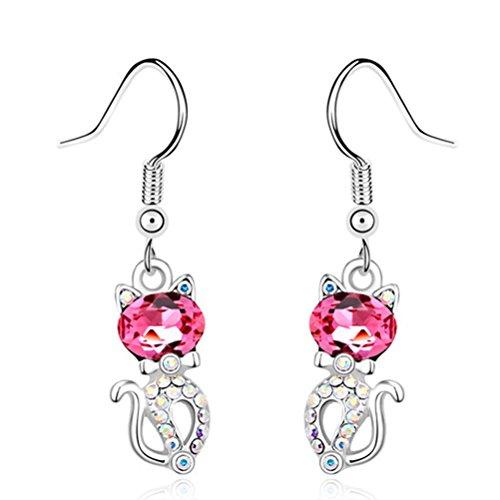 cncbetter-femme-bijoux-tendance-rose-cristal-swarovski-elements-charms-chat-pendantes-boucles-doreil