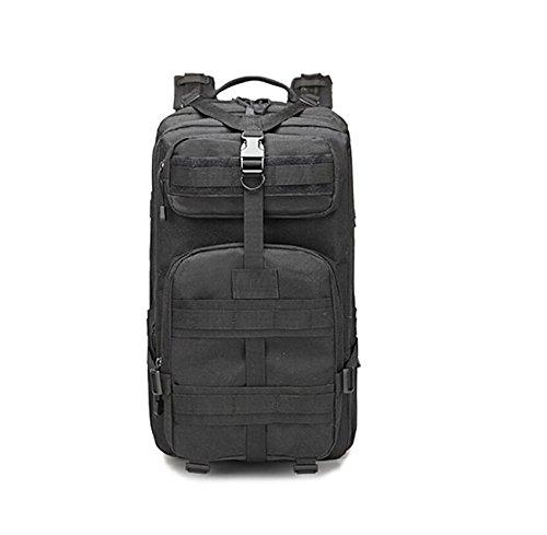 LF&F Militärfans Tarntaschen Sport im Freien Bergsteigen Tasche Reiserucksack Campingtasche taktischer Rucksack militärischer Rucksack große Kapazität 40L B