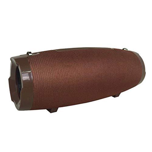 LRWEY Tragbarer Bluetooth Funklautsprecher Wasserdichter Stereo Sound Ultra Bass Subwoofer für iPhone, Samsung usw.