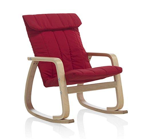 GEESE-8819-Mecedora-infantil-con-tapizado-50-x-44-x-62-cm-color-rojo