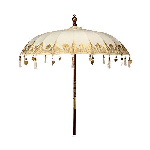Butlers ORIENTAL LOUNGE Sonnenschirm - Sonnenschrim - orientalisch - Design - Vintage Look - verspielt
