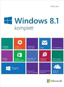 Microsoft Windows 8.1 komplett von [Born, Günter]