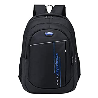 41DuVQSeppL. SS324  - ZARLLE Resistente al Agua Mochila, Portátil Mochila Trekking, Laptop Daypack, Durable Impermeable, para Escalada, Viajes, Actividades al Aire Libre