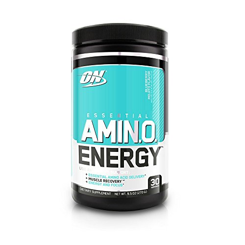 Optimum Nutrition Amino Energy, Blueberry Mojito, 270 Gram - 41DuVr1HkOL