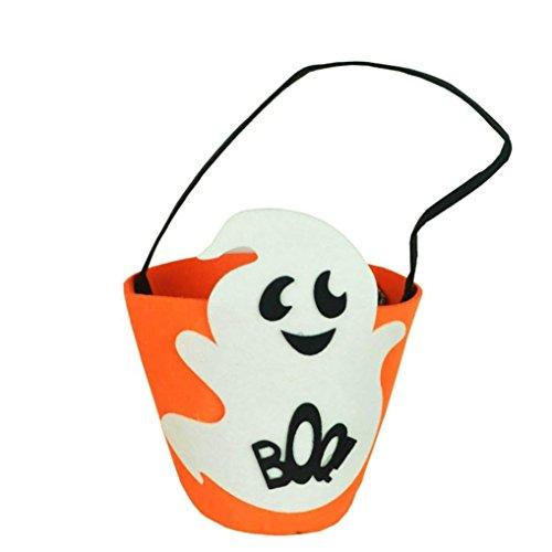 Quaan Baby Mädchen Jungen Kürbis Lager Zubehörteil Tasche Single Handtaschen Frisch und Ively Mode Persönlichkeit Halloween Parteien Maskerade Szenen Verkleiden Sich Cosplay Taschen (A)