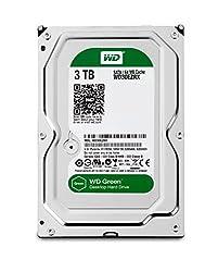 WD Caviar Green 3 TB SATA III 64 MB Cache Bare OEM Desktop Hard Drive - WD30EZRX