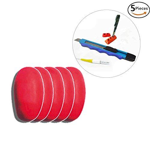 Diy modellabile colla self-setting stick di riparazione fix silicone gomma fango impermeabile magico gomma fango, confezione da 5, rosso