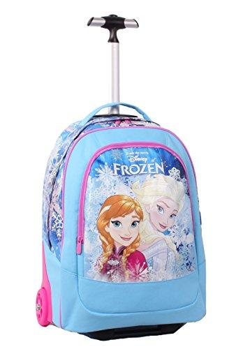 Seven Frozen 2B5001605-512, zainetto trolley per scuola elementare con spallacci a scomparsa