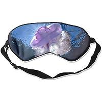 Comfortable Sleep Eyes Masks Underwater Jellyfish Pattern Sleeping Mask For Travelling, Night Noon Nap, Mediation... preisvergleich bei billige-tabletten.eu