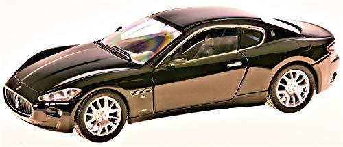Maserati Gran Turismo, schwarz, 0, Modellauto, Fertigmodell, Motormax 1:24 (Maserati Auto)