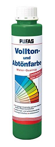 PUFAS Vollton- und Abtönfarben grün 0,75 Liter