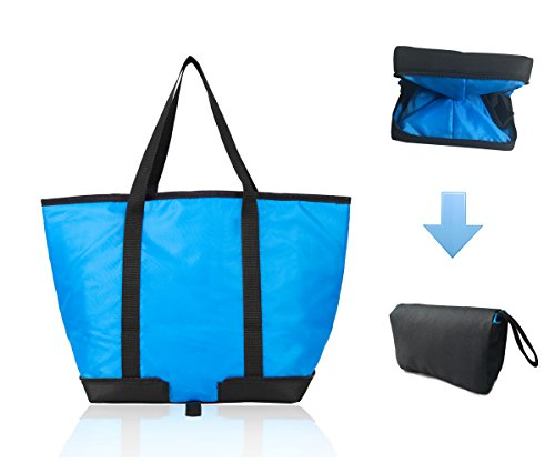 XMBEDERT-Reusable-Foldable-Shopping-Bag-Insulated-Collapsible-Grocery-Cooler-Bag