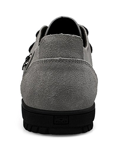 Minitoo , Mocassins homme Gris - Gris