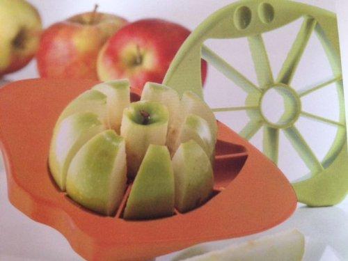 Koziol Apfelschneider Apfelteiler Tyler Grün oder Orange Spülmaschienen Geeignet