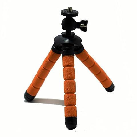 Eurosell Profi 13cm Mini Tisch Kamera Stativ - Ultra flexibel - für GoPro / Canon / Nikon / Samsung etc. Flexibles