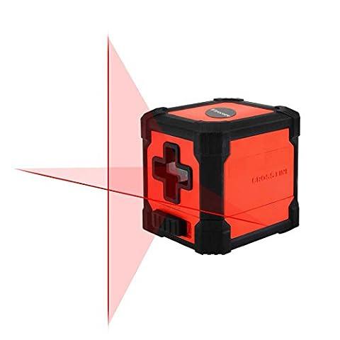 Firecore Mini Self Niveau laser Croix horizontale et verticale Rouge Ligne Laser