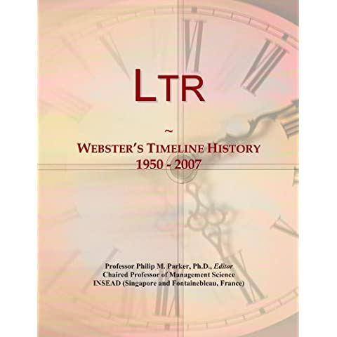Ltr: Webster's Timeline History, 1950 -