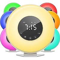 Bedside LED Display Touch Wecker Wake Up Light, Sunrise Simulator Mit Smart Snooze, Timing, Speicherfunktion,... preisvergleich bei billige-tabletten.eu