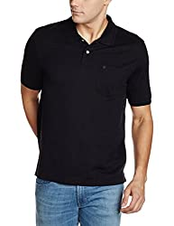 Louis Philippe Mens Polo (8907545003843_LPKW1M00949_M_Black)