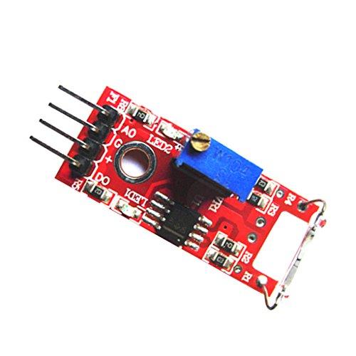 Dolity Magenetschalter Magnet Reed Switch Sensor für Arduino Raspberry Pi ( 15mA ) Digitale Pbx-modul