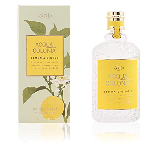 4711 Acqua Colonia Lemon Ginger Agua de Colonia Vaporizador 170 ml