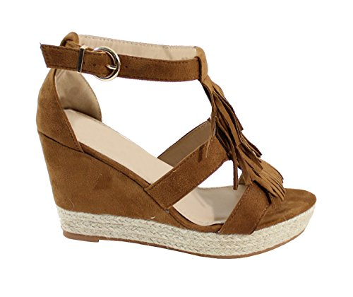 By Shoes Sandale Style Indien - Femme Camel