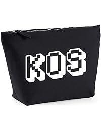 Hippowarehouse Kos printed make up cosmetic wash bag 18x19x9cm