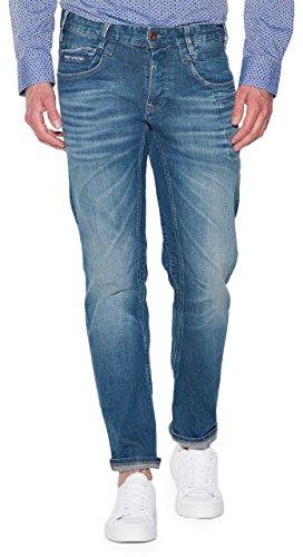 PME Legend Jeans Commander 2 Stretch Denim, Größe:W33 L36 - Nieten-logo-t-shirt