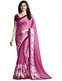 SareeShop Printed Art Silk Saree With Blouse Piece Material