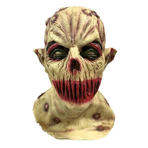 Headless Kostüm Zombie - WETERS Halloween Maske Vampir Zombie Kopf Horror Spukhaus Requisiten Variation Teufel Taro Headless Zombie Kopfbedeckungen