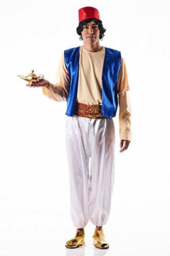 Fliegender Kostüm Teppich - Kostüm Aladdin - Hombre, L
