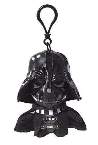 Star Wars - 00231J - Darth Vader, Mini-Plüschfigur mit Sound und Anhänger