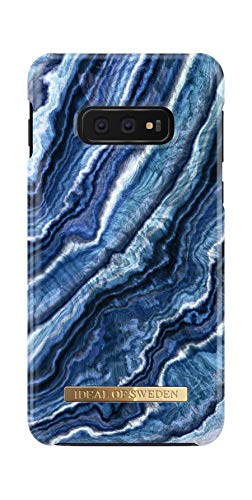 Butterfly Blue Gold Misteem Soft Transparent Clear Pattern Shell Silicone Colorful Elegant Pattern Slim Thin Lightweight Back Cover for Samsung Galaxy A6 Plus 2018 Shockproof Original Rubber Gel TPU Crystal Cover Case for Galaxy A6 Plus 2018