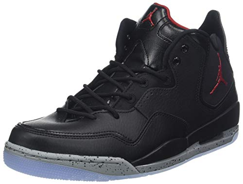 more photos f2427 776b5 Nike Herren Jordan Courtside 23 Basketballschuhe, Schwarz (Black Gym  Red Particle Grey