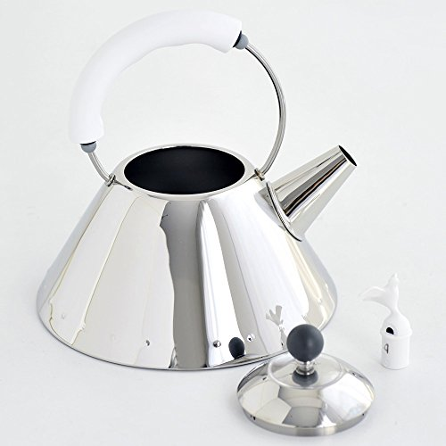 41DukvRPBxL. SS500  - Alessi Kettle, White