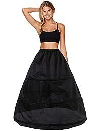 Babydress Enagua Aros Enaguas Enteras Crinolina para Mujer Faldas Vestidos para Mujer Underskirt Cancan Enagua cancán Enagua de la Boda Accesorios de la Boda Enaguas Falda 3 Aros Petticoat