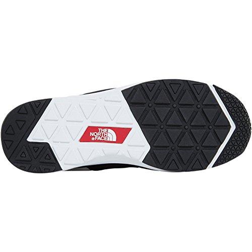 The North Face Nse Tractn Moc Lt Ii, Chaussures de Randonnée Basses Mixte Adulte Blanc (blanc / noir)