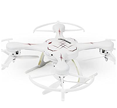 Rc Drone with Cameras FPV WiFi Iphone Control and Remote Control Support One Key to Return Collapsible Drone by FQ