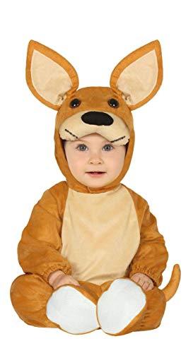 (Enter-Deal-Berlin Kinderkostüm Unisex Känguru Größe 89-93 cm ( 12-24 Monate ) Jungen Mädchen Tierkostüm)