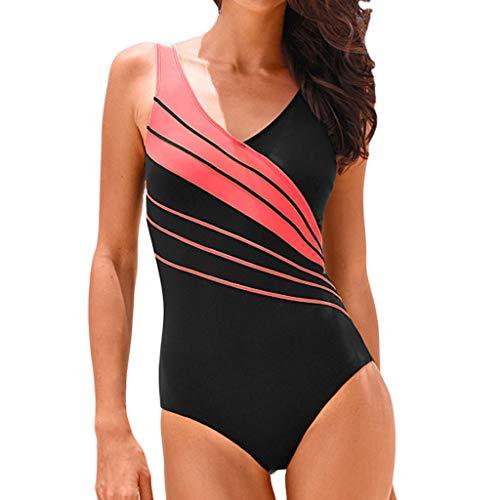 Produp Damen Sexy Einteiler Kostüm Gepolsterter Badeanzug Monokini Bikini Sets ()