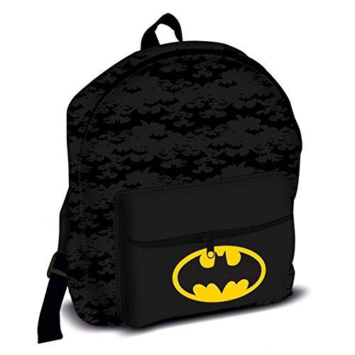 Batman Roxy Kinder Rucksack, 39cm, 13l, schwarz