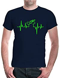 T-Shirt Music-Frequency-Drum Set