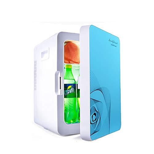 YOCC 20L Kühlschrank, Kühlbox Auto Große lagerung Kühlschrank, Tür Lagerung Auto Kühler Wärmer & Kühler Modi 12 V für Auto Reisen Camping Getränke/Lebensmittel, Blau -
