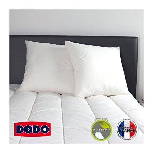 dodo-lot-de-2-oreillers-anti-acariens-tennessee-60x60-cm-blanc