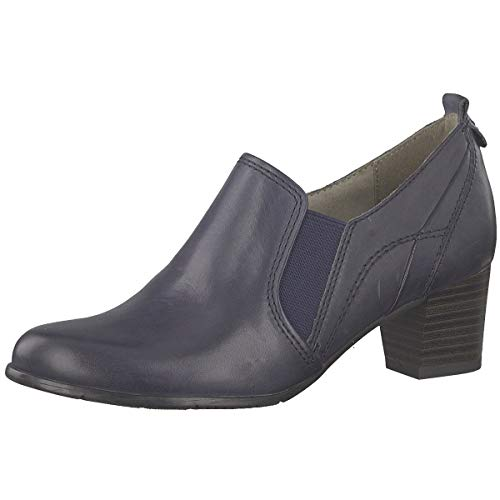 Jana Damen Pumps Woms Slip-on 8-8-24401-22/805 blau 605093