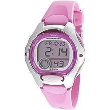 CASIO Quarz LW-200-4BVEF - Reloj de niña, correa de resina, color rosa